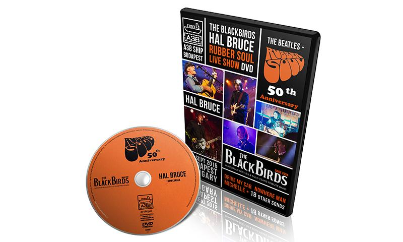 THE BLACKBIRDS  'Rubber Soul Live' DVD