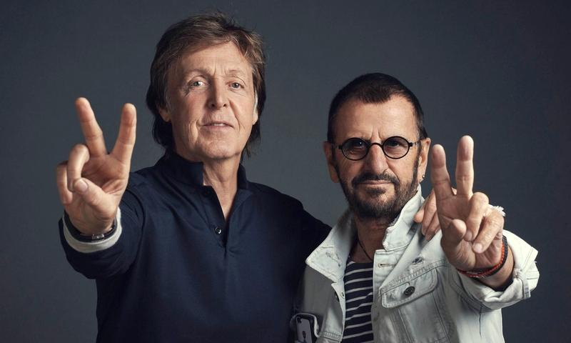 SIR PAUL ÉS SIR RINGO